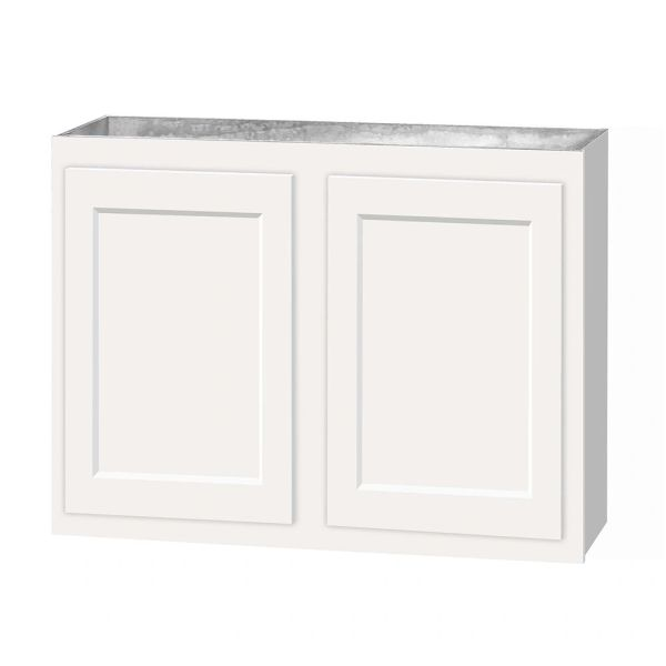 D White shaker wall cabinet 36w x 12d x 36h (Local Pickup Only)