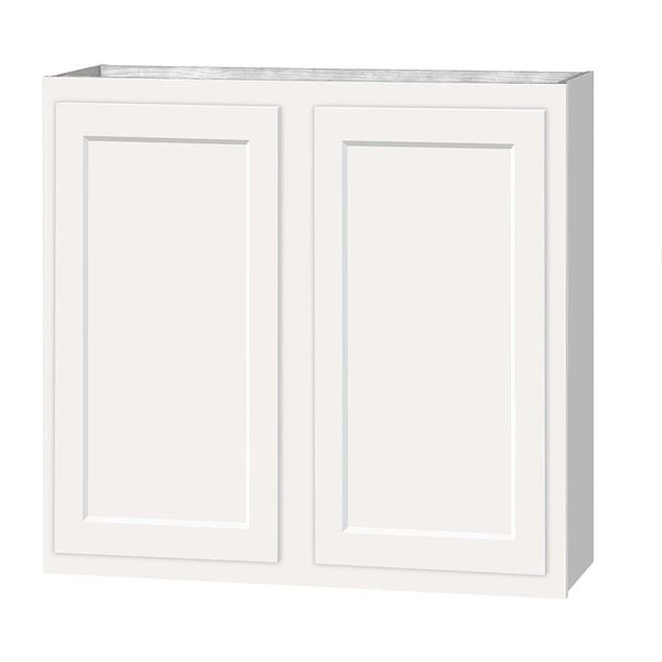 D White shaker wall cabinet 33w x 12d x 30h (Local Pickup Only)