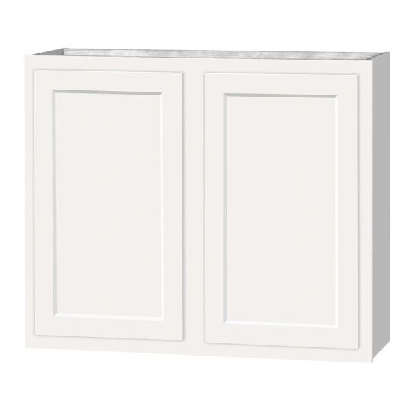 D White shaker wall cabinet 36w x 12d x 30h (Local Pickup Only)