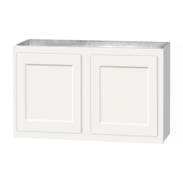D White shaker wall cabinet 30w x 12d x 21h (Local Pickup Only)