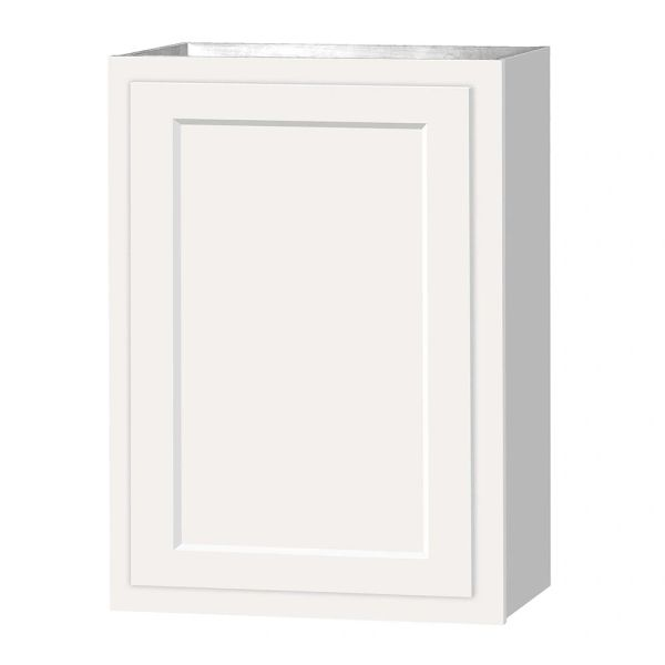 D White shaker wall cabinet 21w x 12d x 30h (Local Pickup Only)