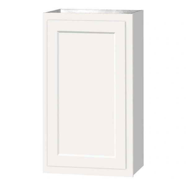 D White shaker wall cabinet 18w x 12d x 36h (Local Pickup Only)