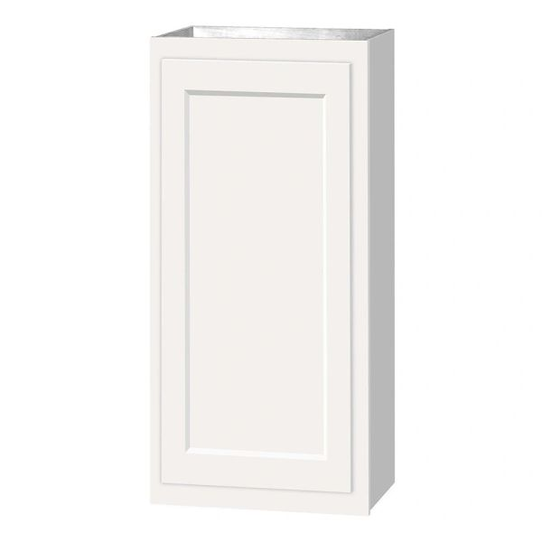 D White wall cabinet 15w x 12d x 36h (Local Pickup Only)