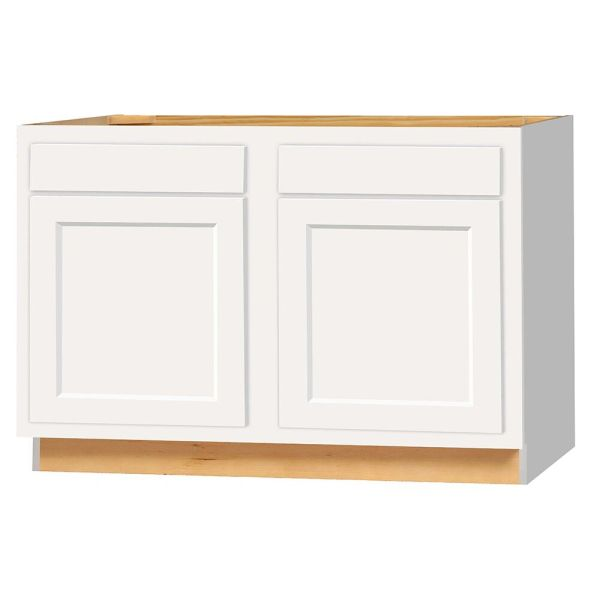 D White shaker Base cabinet 48w x 24d x 34.5h (Local Pickup Only)