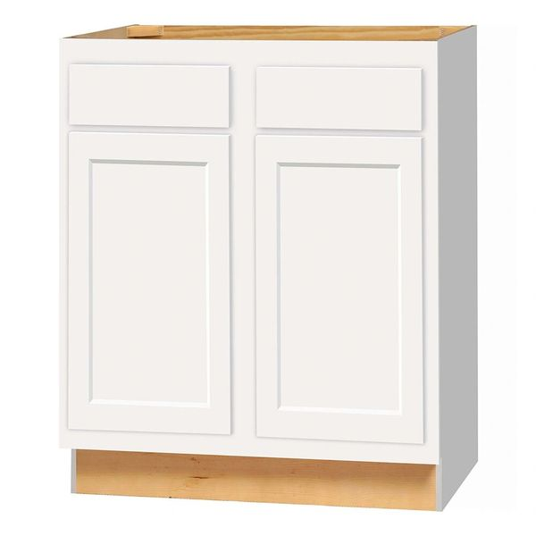 D White shaker Base cabinet 30w x 24d x 34.5h (Local Pickup Only)