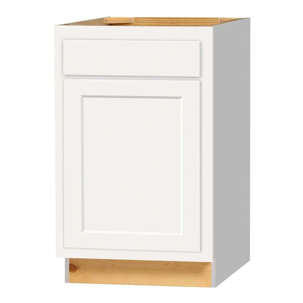 D White shaker Base cabinet 21w x 24d x 34.5h (Local Pickup Only)