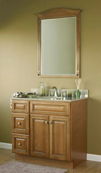 Kingston Vanity V6021D with drawers on Right and Left