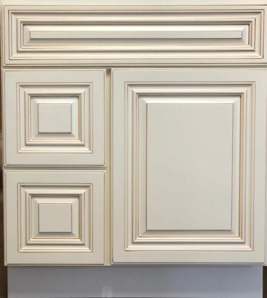 """Wheaton Vanity Base cabinet with Drawers 30""""w x 21""""d x 30.5""""h Drawers Left (Local pick up only."""
