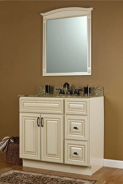 """Wheaton Vanity Base cabinet with Drawers 48""""w x 21""""d x 30.5""""h Drawers each side Local pick up only."""