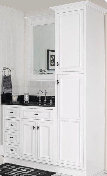 "Danbury Linen cabinet 18""w x 21""d x 84""h (Local Pickup Only)"