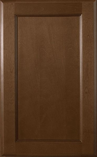 Bristol Brown Vanity base cabinet V36w x 21d x 34.5h Left drawers (Local Pickup Only)