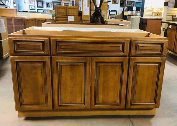 Kingston 60 Vanity Sink Base Cabinet with full overlay soft close dovetail drawers