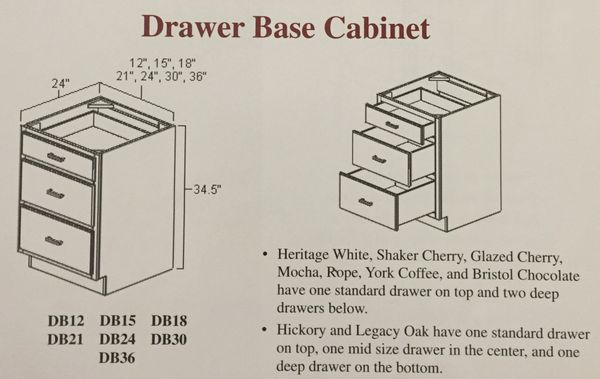 Light Oak Drawer base cabinet 27w x 24d x 34.5 (local pickup only).h