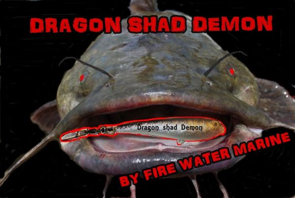 DRAGON SHAD DEMON IN-LINE CATFISH / STRIPER FLOAT