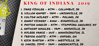 2019 King of Indiana