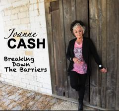 JOANNE CASH - BREAKING DOWN THE BARRIERS CD (Overseas buyers)