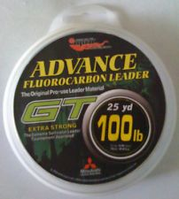 EUPRO GT FLUOROCARBON FISHING LEADER LINE 25 YARDS