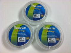 SEAGUAR PREMIER LABEL FLUOROCARBON LEADER FISHING LINE 25 yards