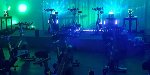 indoor cycling classes at home