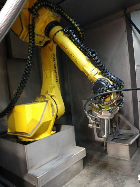 Robotic washing, precision cleaning, robotic deburring, automated washing, water jet cleaning,