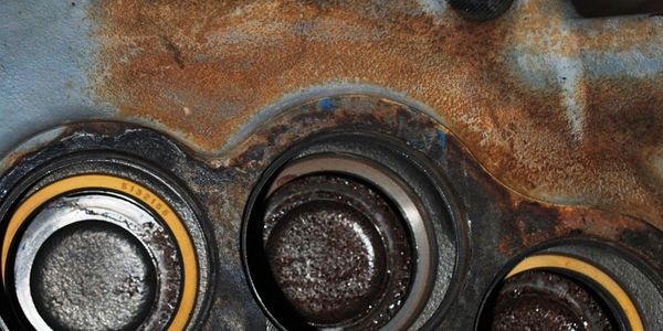 de-rusting, derusting, rust removal, production de-rusting, engine part de-rusting, before de-rust