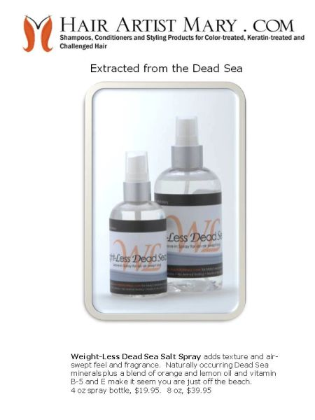 Weightless Dead Sea Salt - 4oz