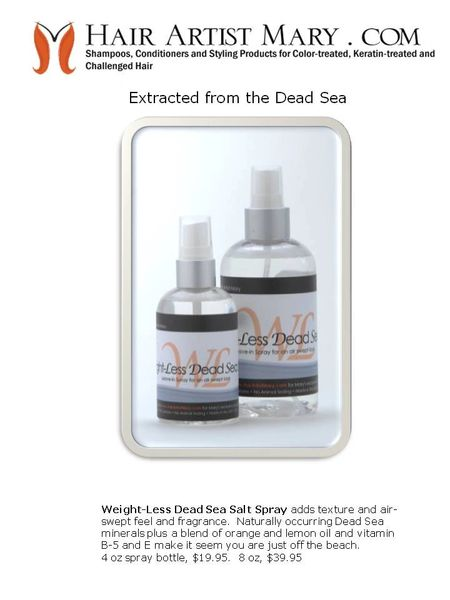Weightless Dead Sea Salt - 8 oz