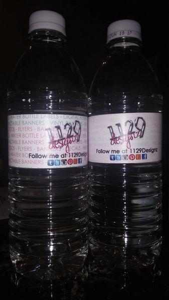 Waterbottle Labels