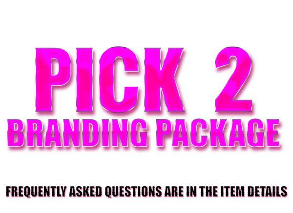PICK 2 Branding Package