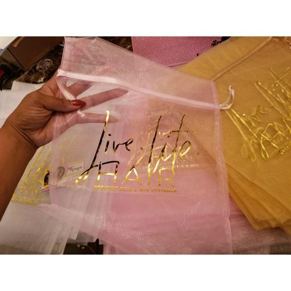 Sheer Organza Bags (12X14)