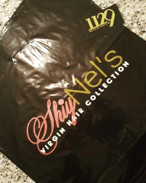 Plastic Merchandise Bags w/logo