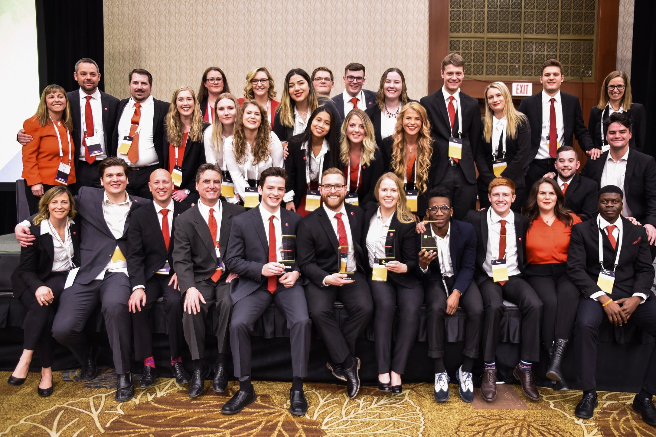 Enactus Okanagan College at the national competition.