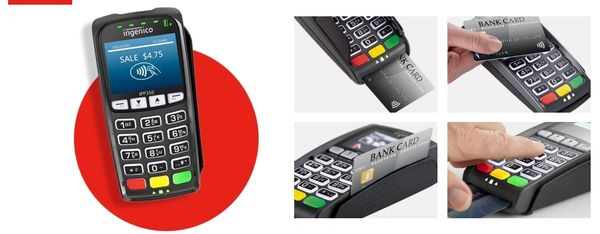 Datio Point of Sale EMV Chip Card Reader IPP350