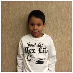 Kids - Bout dat Rez life t-shirt