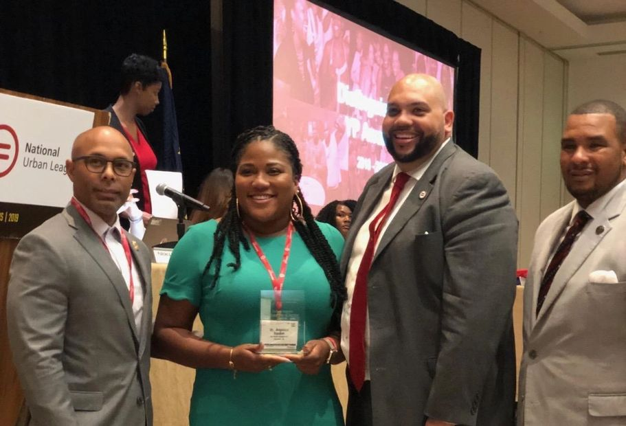 urban league young black professionals; non profit cincinnati wins award at national conference