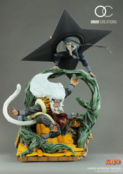 Oniri 1/6 Dioroma SANDAIME HOKAGE – THE LAST FIGHT - Sold out