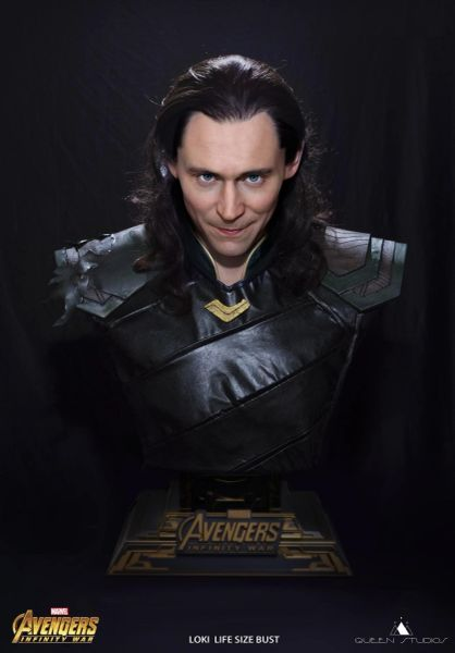Queen Studios Loki Life Size Bust (Sold Out)