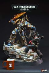 HMO 1/6 Warhammer Guilliman vs Chaos Space Marine Diorama (Pre Order)