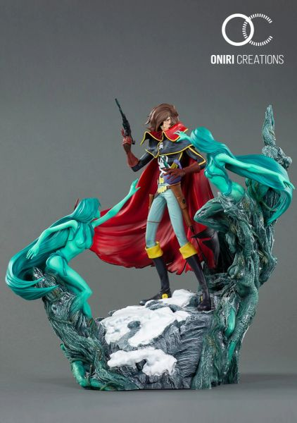 Oniri 1/6 Space Pirate Captain Harlock Statue - Sold out