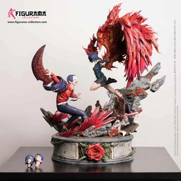 Figurama Tokyo Ghoul: Touka VS Tsukiyama statue Fandom Exclusive - Sold out