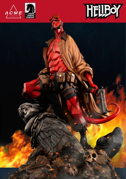 ACME Studios Hellboy - Ver. A (Colour) - Pre Order (Limited 388pic)