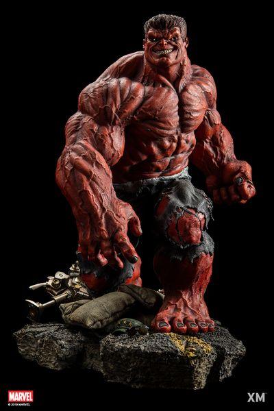 XM 1/4 Red Hulk - Pre Order (Full pay)