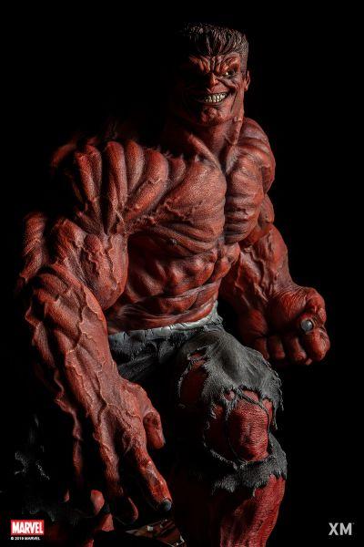 XM 1/4 Red Hulk - Pre Order (Deposit)