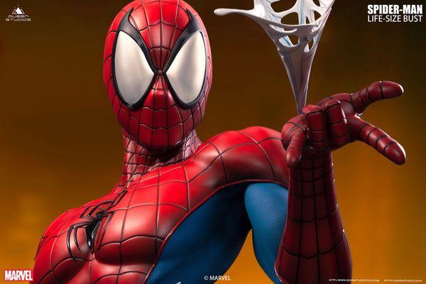 Queen Studios Comics Spider-Man Life-size Bust <Red/Blue> (Pre Order) ES500