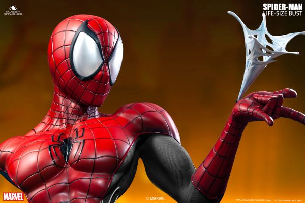 Queen Studios Comics Spider-Man Life-size Bust <Red/Black> (Pre Order) ES300