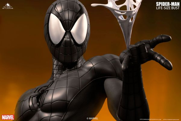 Queen Studios Comics Spider-Man Life-size Bust <Black> - Sold out