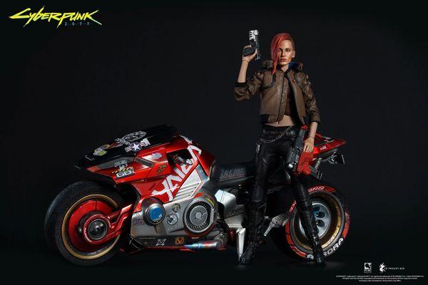 Purearts CYBERPUNK 2077 YAIBA KUSANAGI BUNDLE (FEMALE): V FEMALE+ SPORTBIKE (Pre Order)
