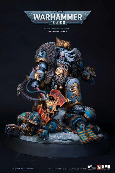HMO 1/6 Warhammer Logan Grimnar Diorama (Pre Order)