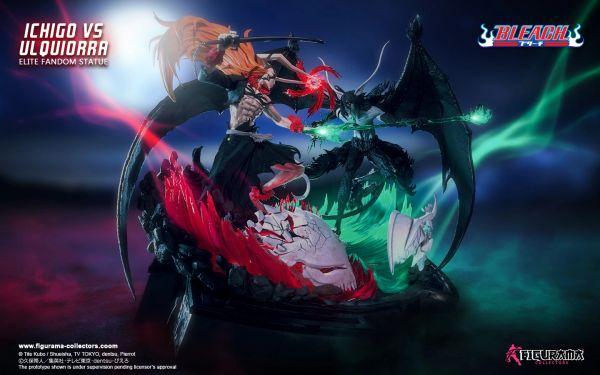Figurama Bleach : 1/6 Ichigo vs Ulquiorra Elite Fandom Statue (Sold Out)
