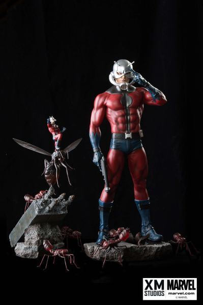 PREMIUM COLLECTIBLES: ANT-MAN STATUE (COMICS VERSION) - Sold Out